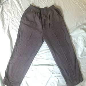 Vintage patterned slacks size medium